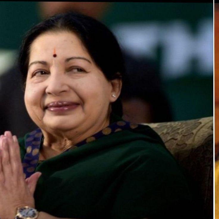 Jayalalitha and Karunanidhi (nh)