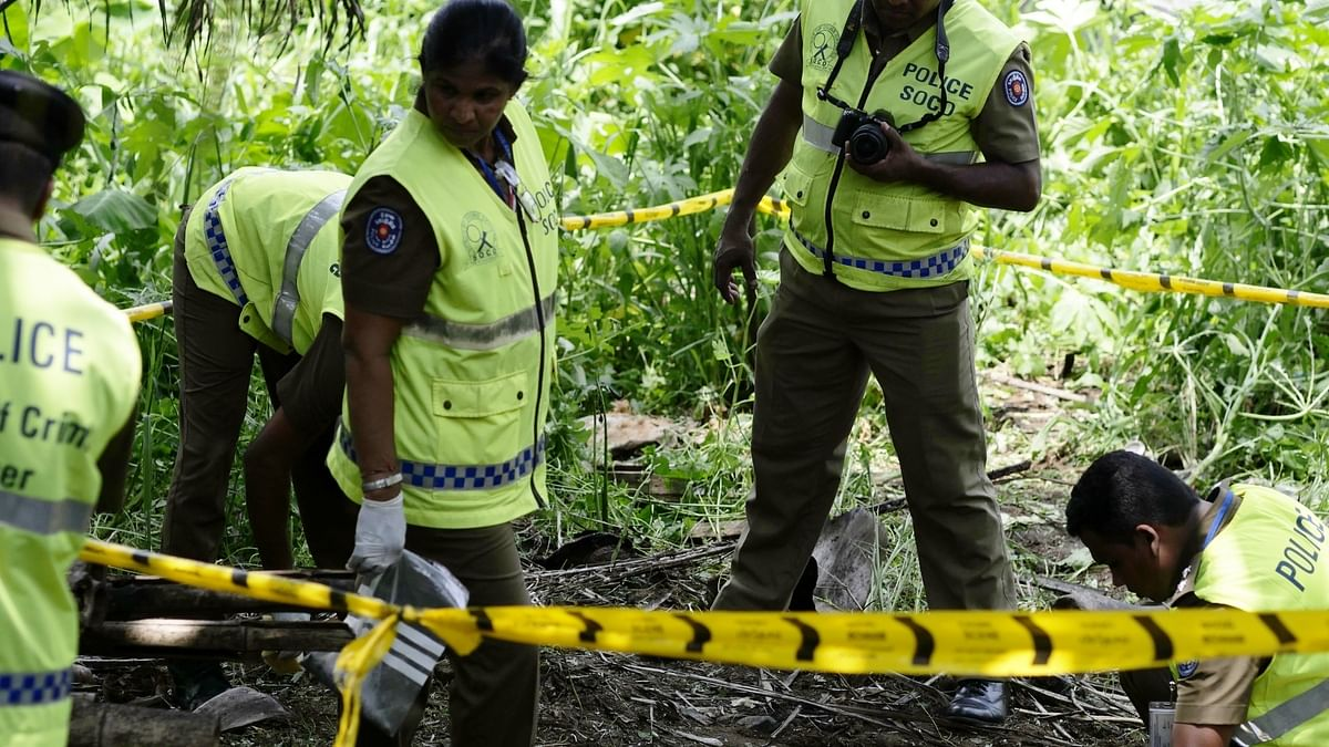 Sri Lanka: 15 bodies recovered after gun battle between Sri Lankan forces and armed groups during raids