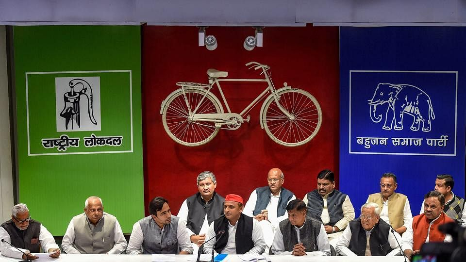 SP-BSP-RLD to kick of joint campaign for upcoming Lok Sabha polls by holding rally in Uttar Pradesh