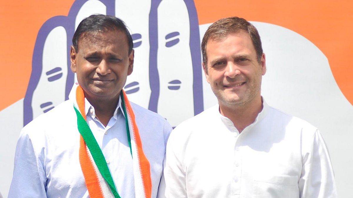 Disgruntled MP from Northwest Delhi Udit Raj leaves BJP, joins Congress