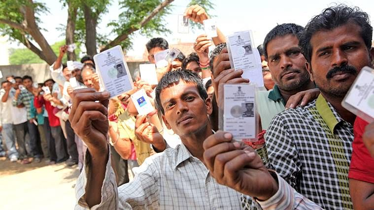 Stage set for polling in 91 Lok Sabha seats and four assemblies
