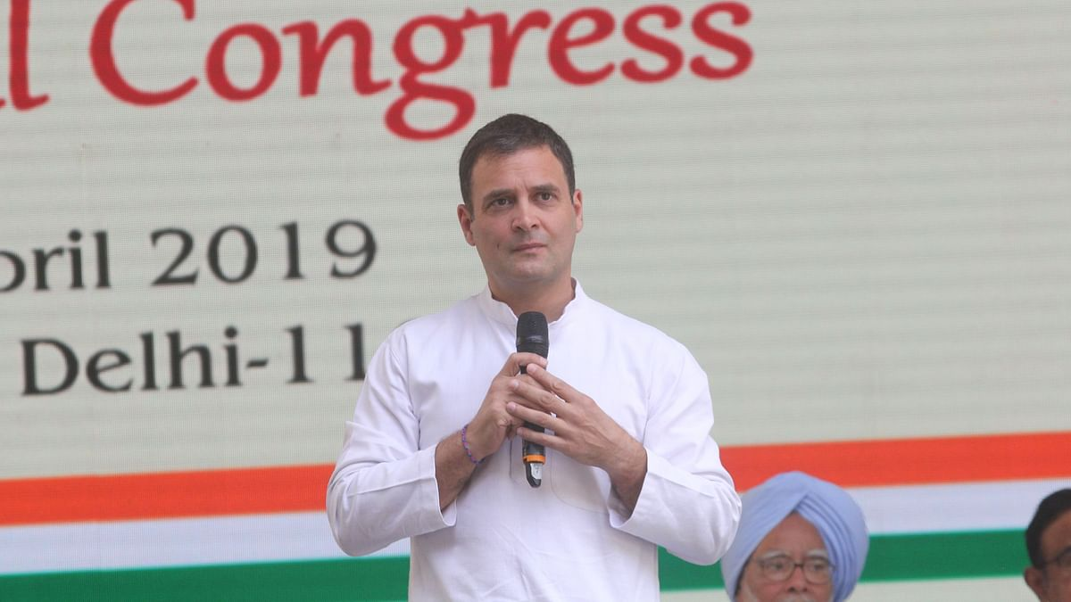 Lok Sabha  polls: Rahul Gandhi asks voters to vote wisely for soul of India