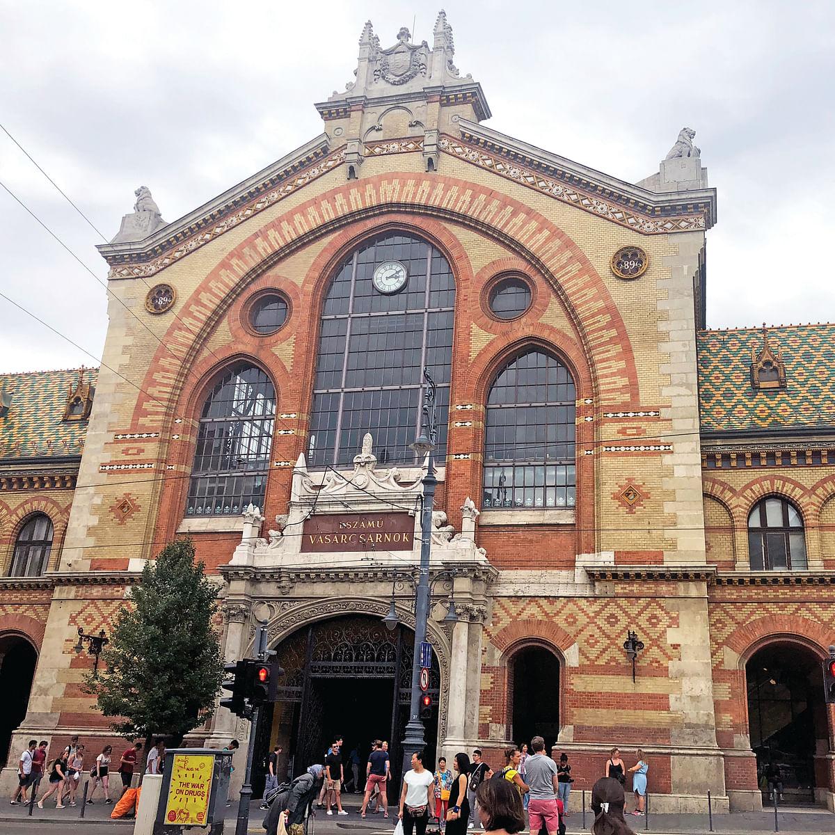 Budapest's central Market (social media)