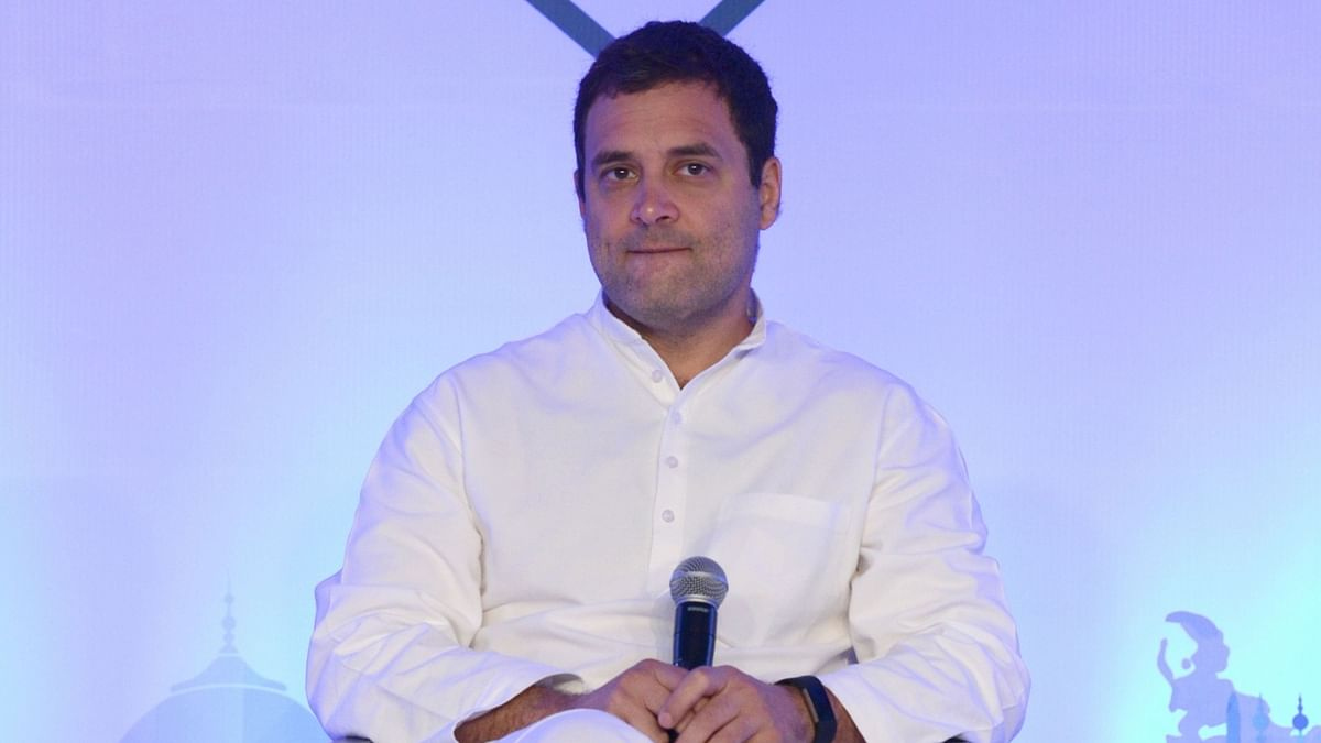 Congress president Rahul Gandhi urges voters to 'vote for Nyay' in the second phase of LS polls