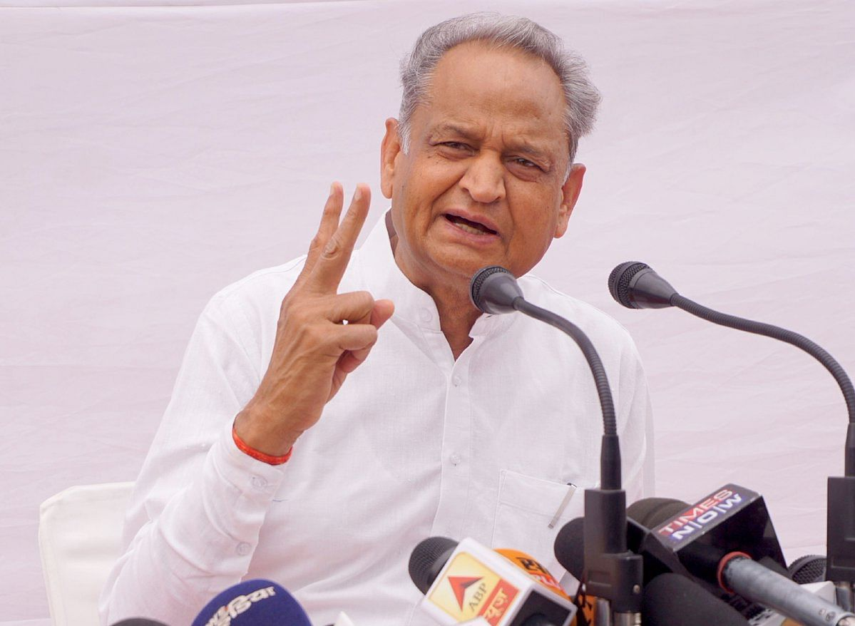 Rajasthan CM Ashok Gehlot (IANS Photo)