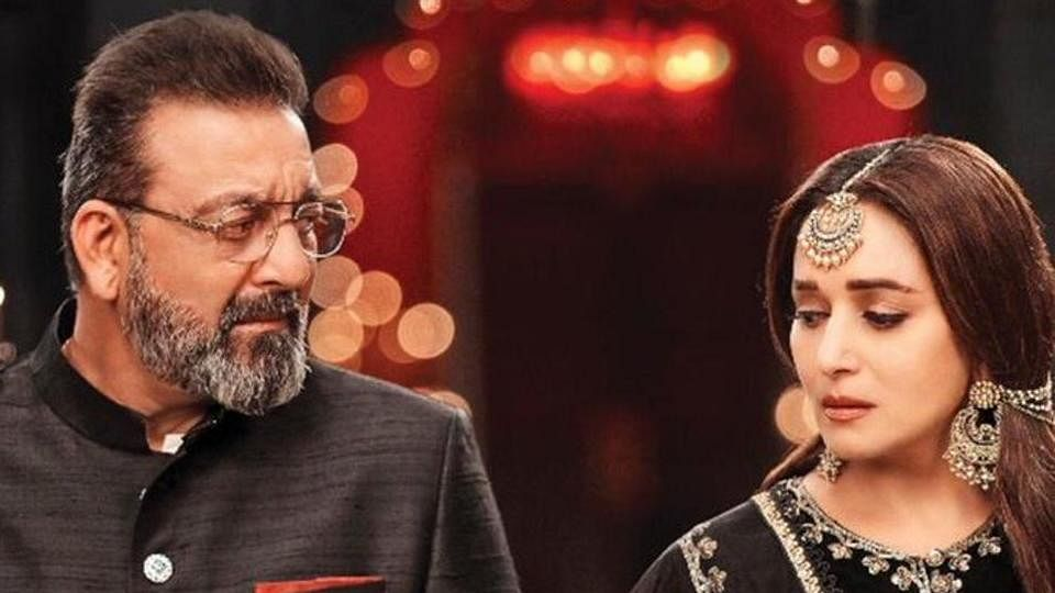 Madhuri Dixit, Sanjay Dutt have a history and not a pleasant one