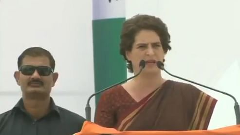 Protect farmers' fields as that is nationalism as well: Priyanka to PM Modi