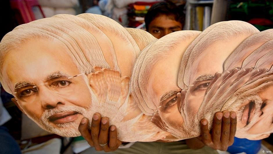 The wheel turns a full circle with the world sceptical of Modi's ability to steer the course