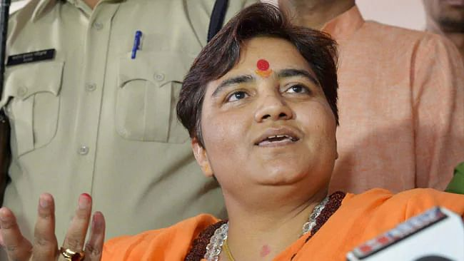 My father's name should be taken with dignity: Hemant Karkare's daughter hits out at Pragya