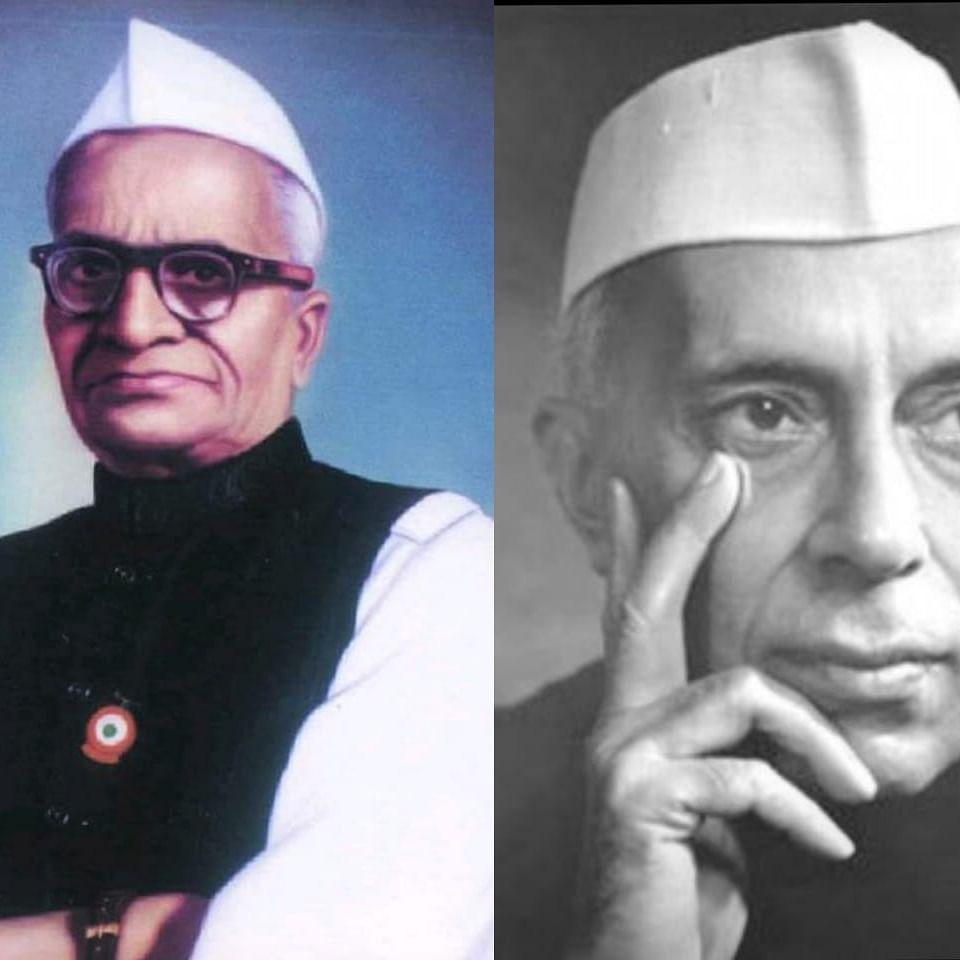 Dr. Narayan Subbarao Hardikar and Pt. Jawaharlal Nehru (NH)