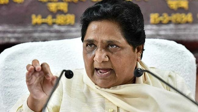 Mayawati demands strict action against BJP MP for beating up Dalit officer