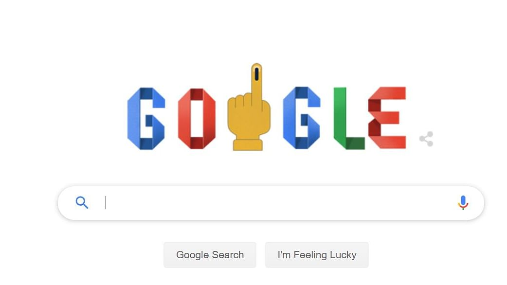 How to vote; Google Doodle in India celebrates ongoing Lok Sabha polls by providing steps to voting process