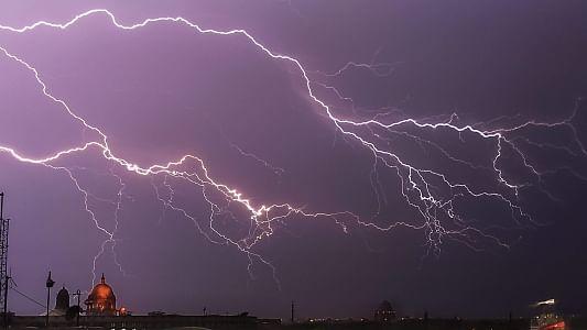 18 killed by lightning in Rajasthan, several injured