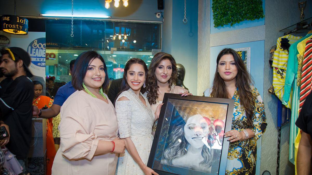 Asma Gulzar's store launch by Bollywood actress Nushrat Bharucha