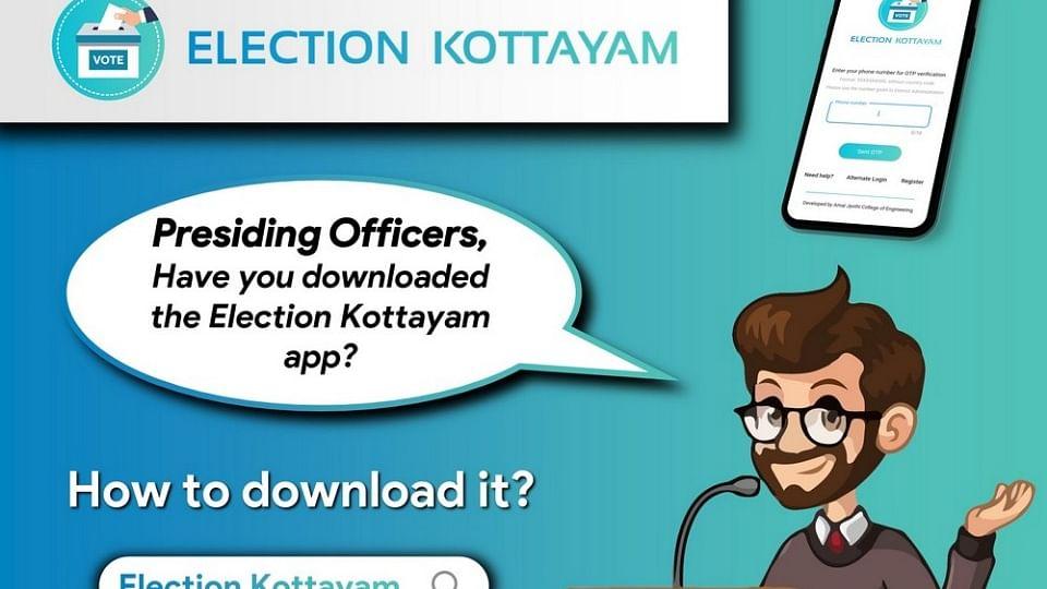 Lok Sabha Polls: In a first, Kottayam develops an app for welfare of officers, EVM complaints