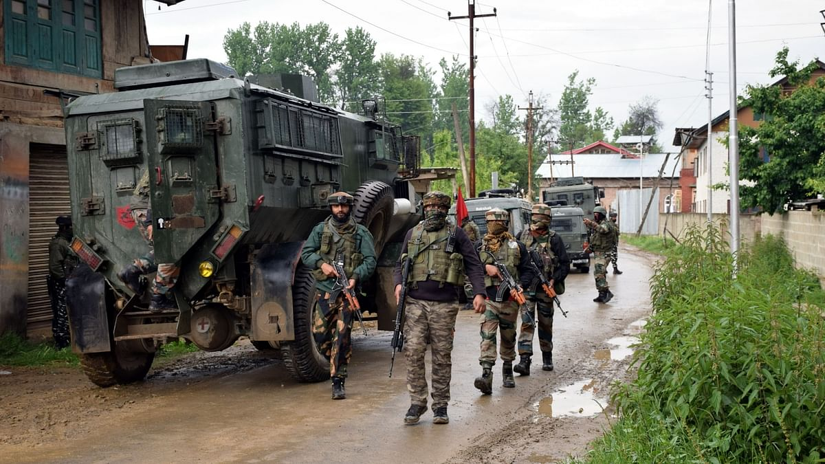 Security forces begin search operation in Pulwama
