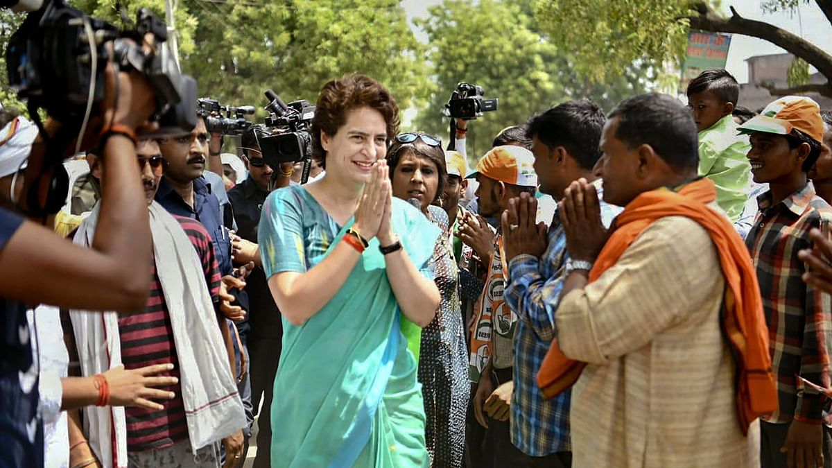 Priyanka Gandhi flays Centre over GDP, jobs; says economy punctured