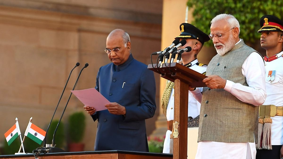 Narendra Modi's  Union Council of ministers sworn in, 57 others take oath