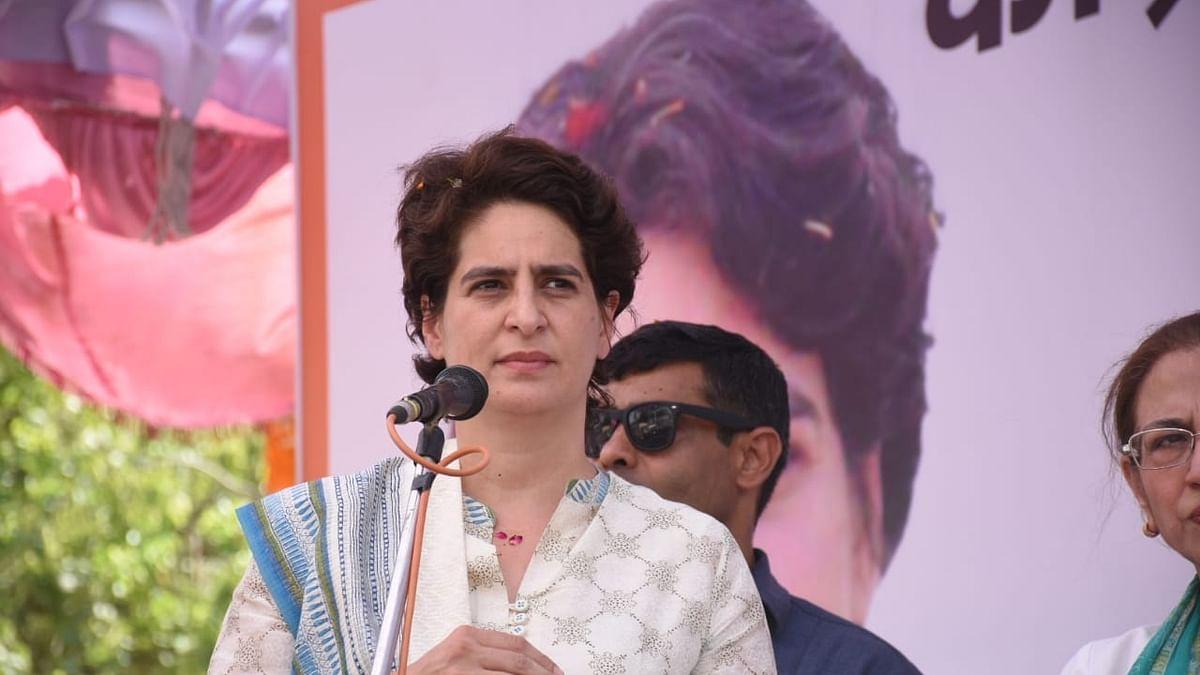 Congress General Secretary (Uttar Pradesh East) Priyanka Gandhi Vadra