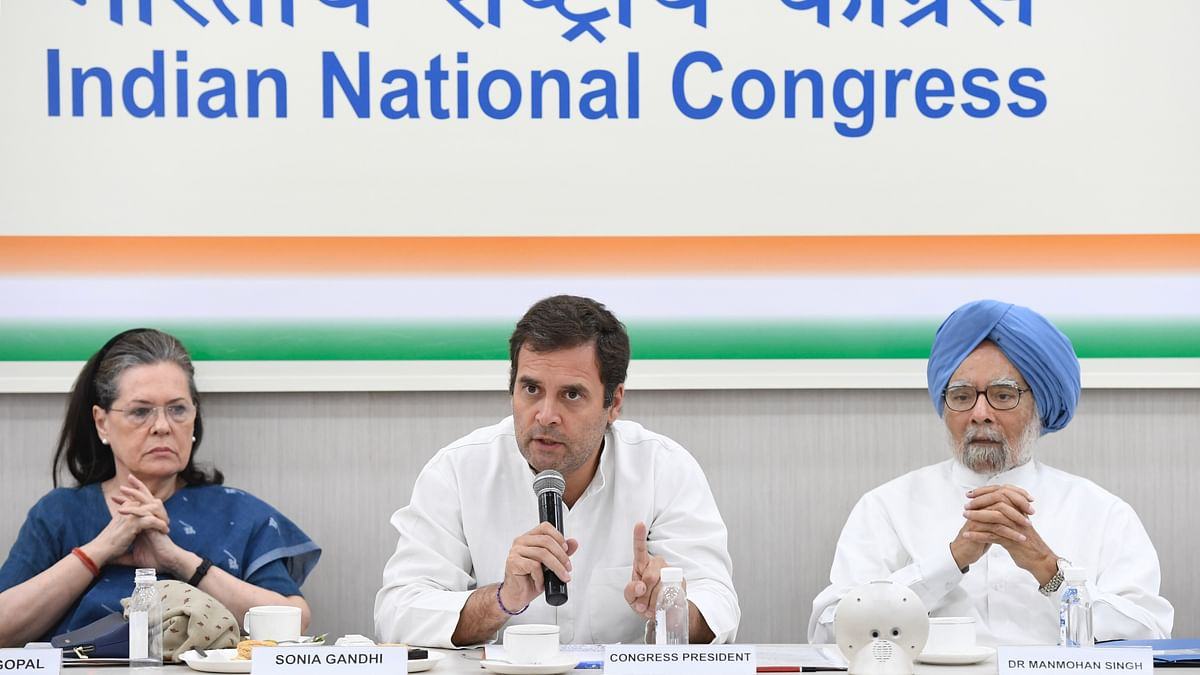 CWC resolution urges Congress to act as constructive opposition, turns down Rahul Gandhi's offer to resign