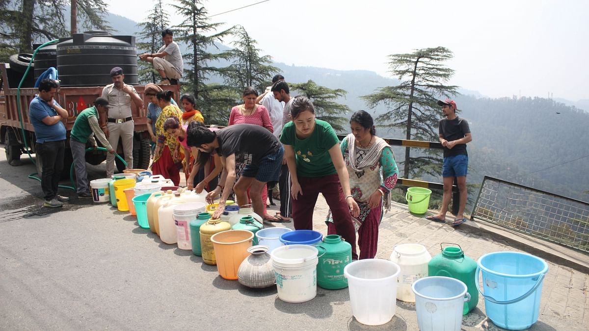 Shimla's water crisis major issue over nation's security