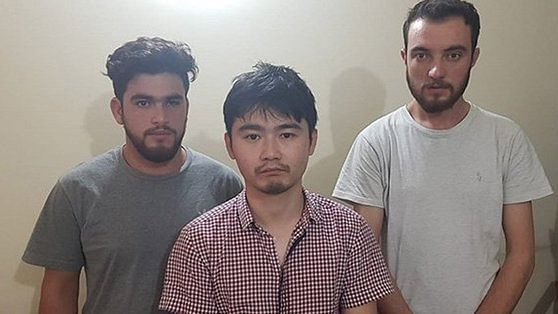 Pakistan's probe agency FIA busted human trafficking cell run by Chinese nationals near Lahore (Photo courtesy: @newsonepk)