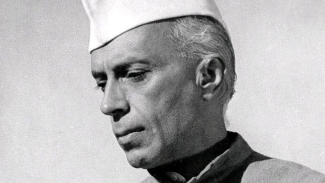 Nehru 's Word: Vote only if you accept the objective