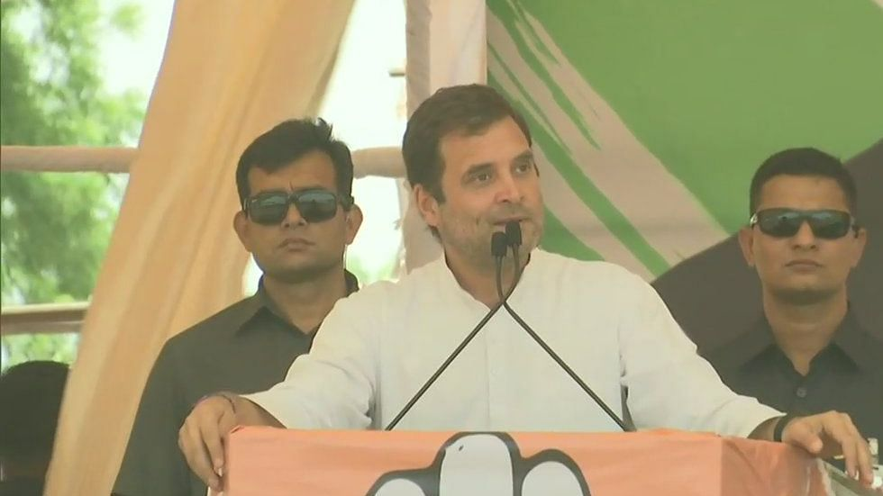 Rahul Gandhi taunts Modi over claim on cloud cover during air strikes