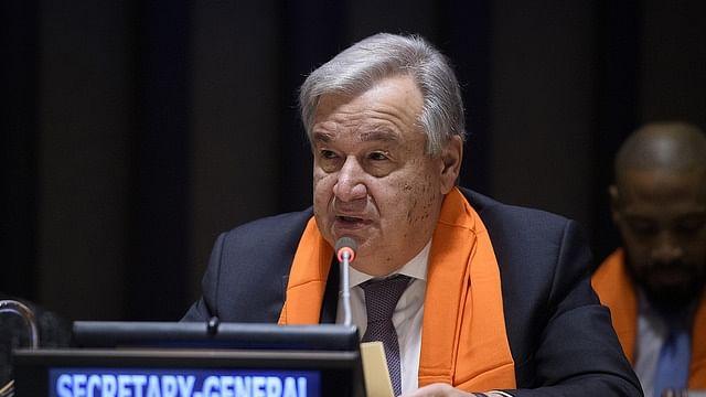 UN Secretary General Antonio Guterres (File photo)