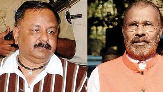 File photo of NK Amin and D G Vanzara (Twitter)