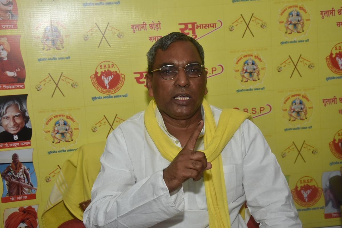 Omprakash Rajbhar's flip-flop leaves allies and potential allies in Uttar Pradesh cold