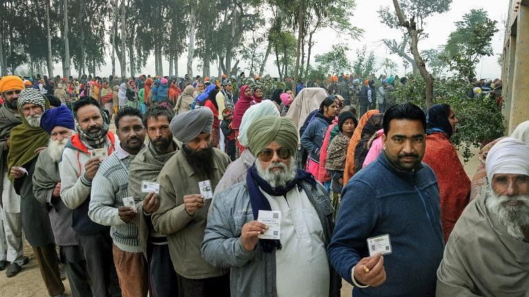 Allegations of violence, EVM rigging  marred polls in Punjab; Himachal and Chandigarh remained peaceful