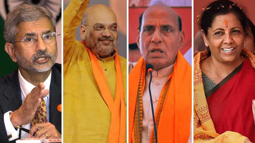 The Big Four in Team Modi 2.0