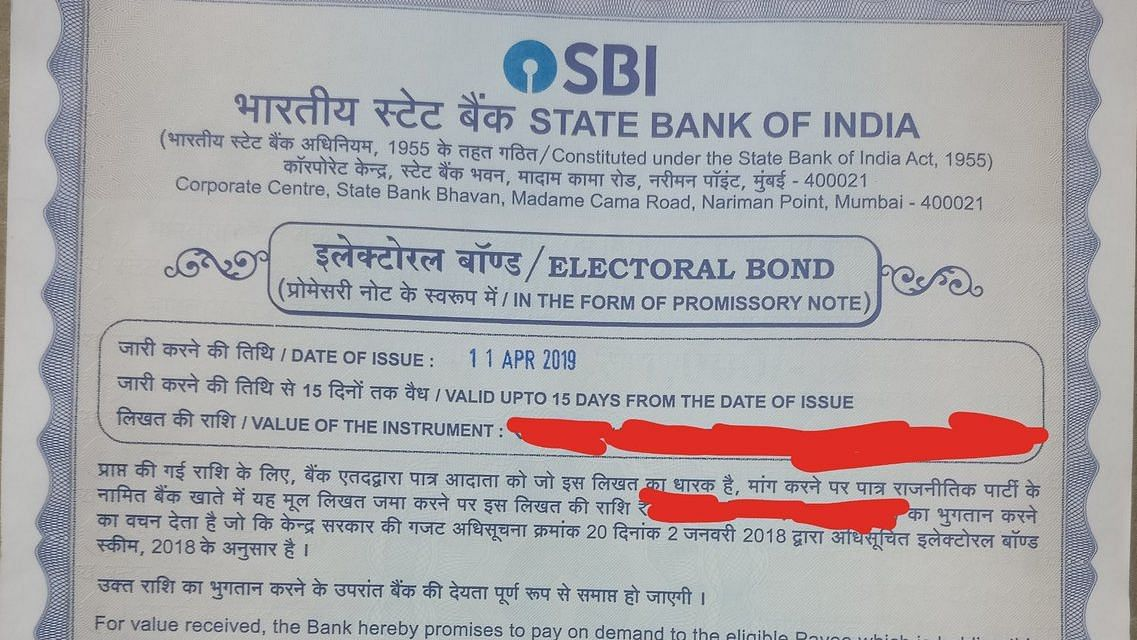 SBI issued electoral bonds worth ₹5,029 crore till May 4, reveals RTI reply