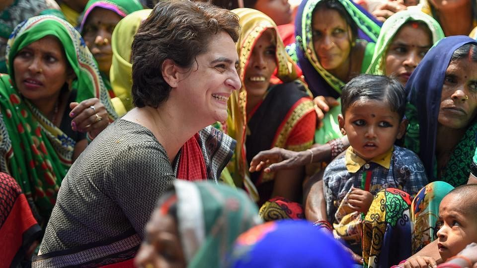 Priyanka Gandhi detained on her way to Sonbhadra citing Section 144
