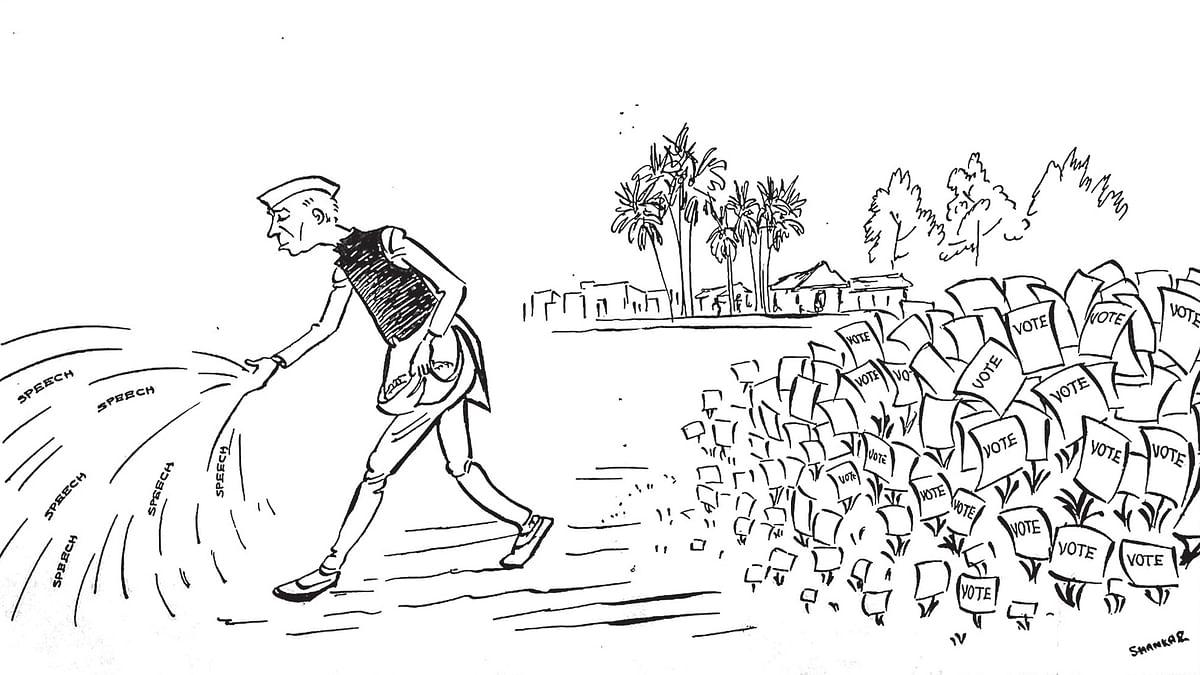 Small men, narrow minds, petty principles: Nehru in 1951 on communalism