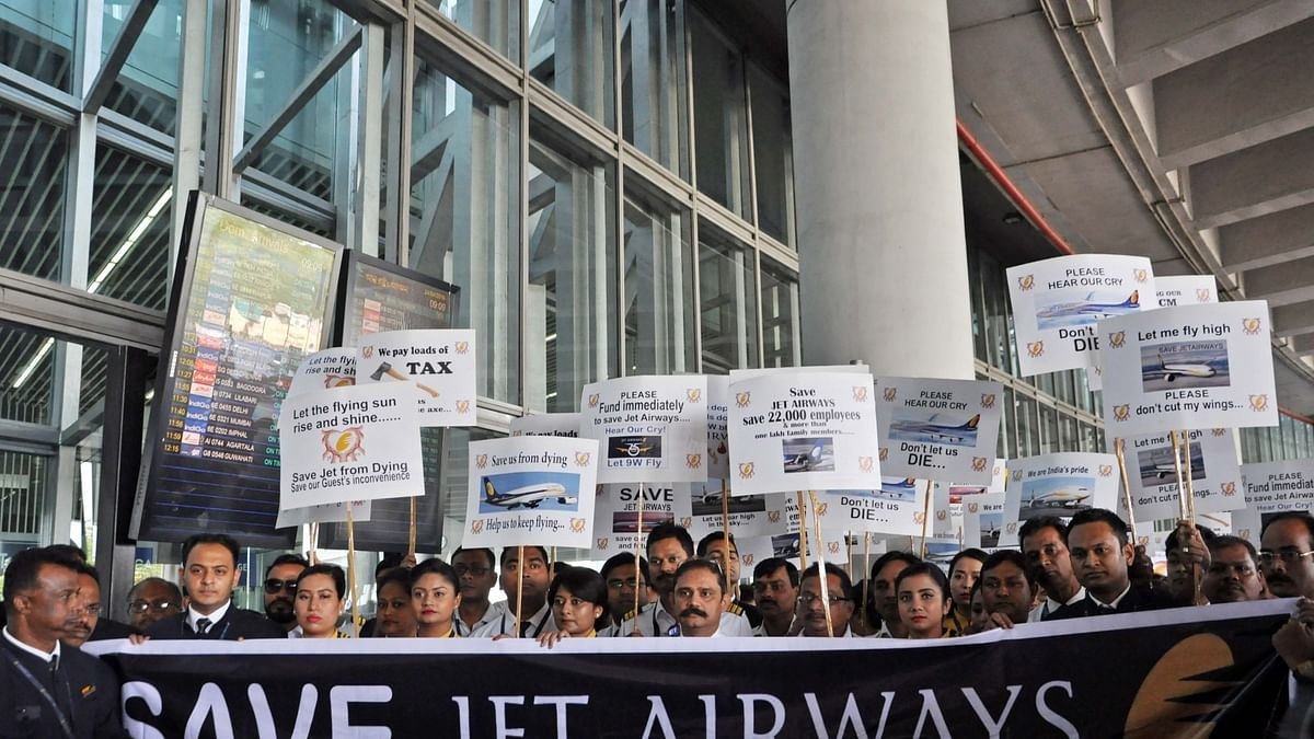 Unable to find solution or employment for Jet Airways employees, govt plans to launch 'website'