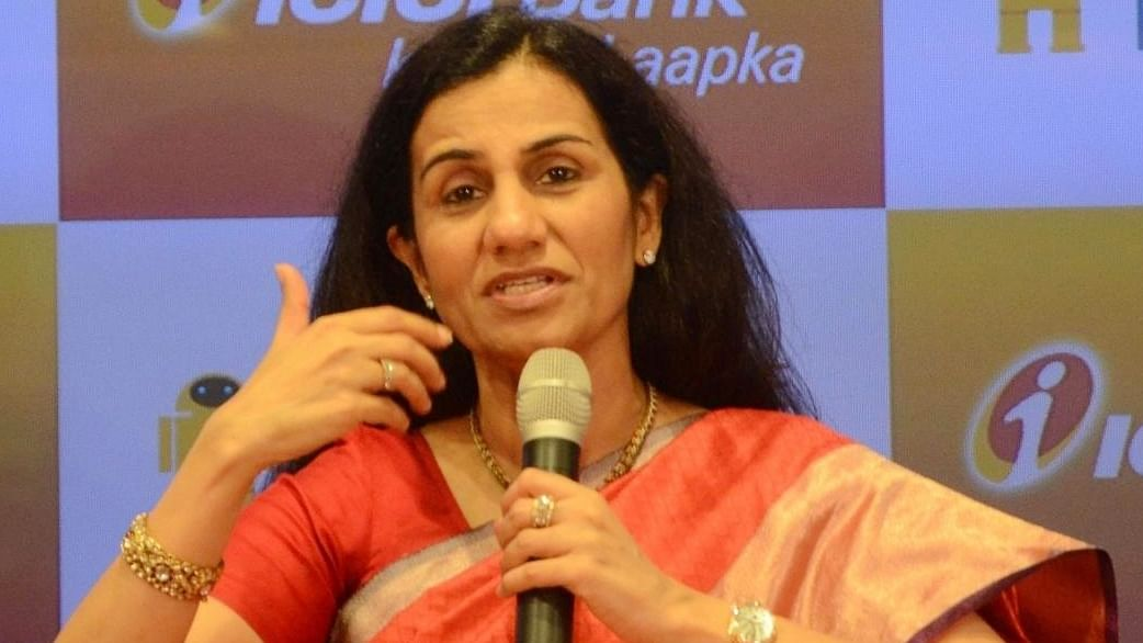 Chanda Kochhar appears before ED for questioning