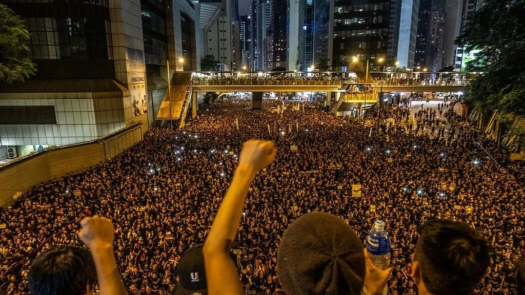 Hong Kong  protesters to draw attention of G20 leaders as  China says it won't discuss it in the summit