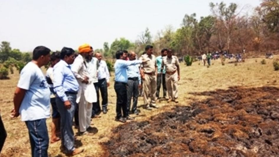 Underground fires in UP forests sets off panic among locals