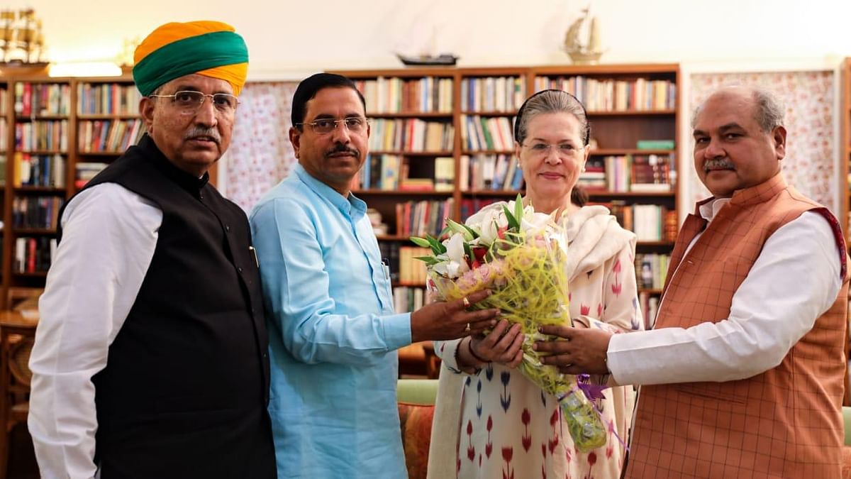 BJP leaders reach out to Sonia Gandhi ahead of Parliament session