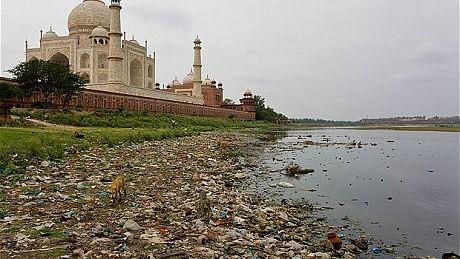 A drying Yamuna could endanger Taj Mahal