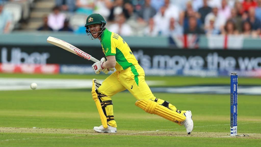 Warner names himself 'ICC Male Tiktoker of the Decade'