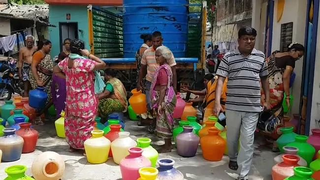 Water Crisis: 40% cut in piped water supply in Chennai