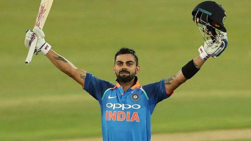 Indian Skipper Virat Kohli (Twitter)