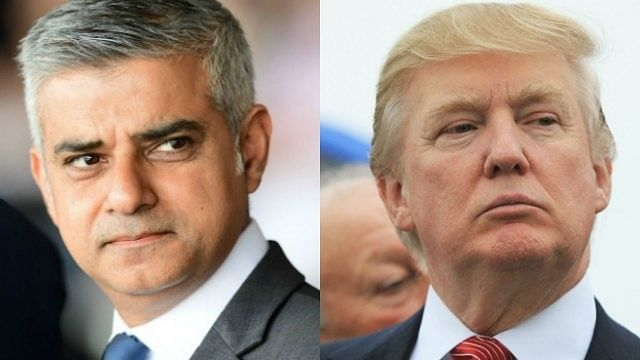 "Donald Trump slams  London Mayor Sadiq Khan, by calling him ""nasty"""