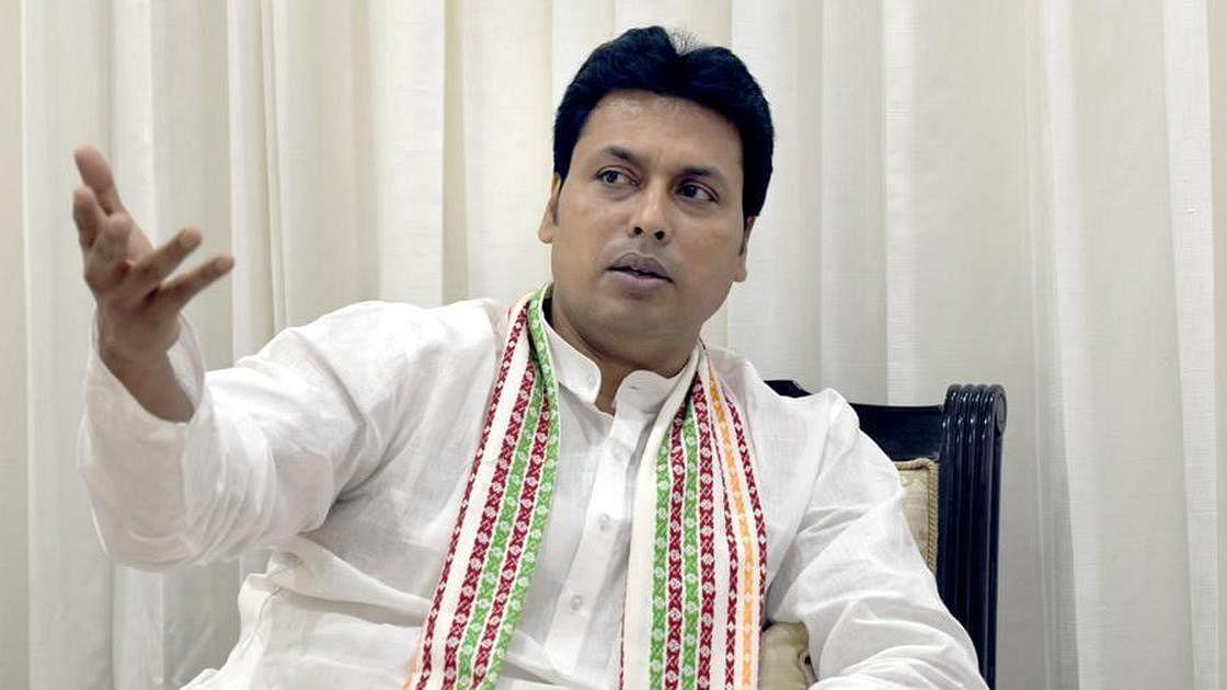Tripura CM Biplab Deb faces revolt as MLAs reach Delhi to get him removed