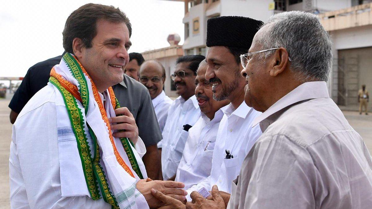 Rahul Gandhi arrives in Wayanad LS constituency on 3-day visit
