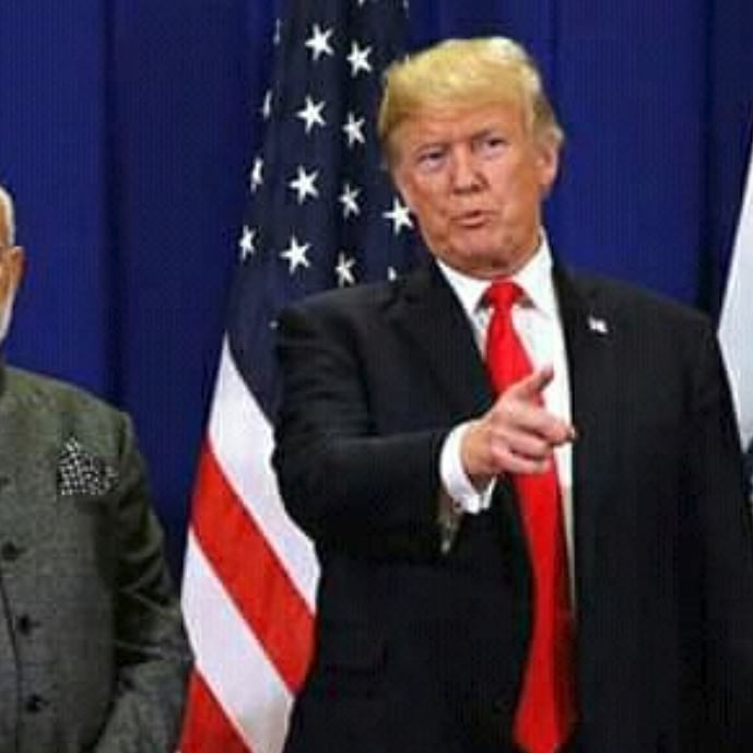 India' Prime Minister Narendra Modi and US President Donald Trump (Twitter)