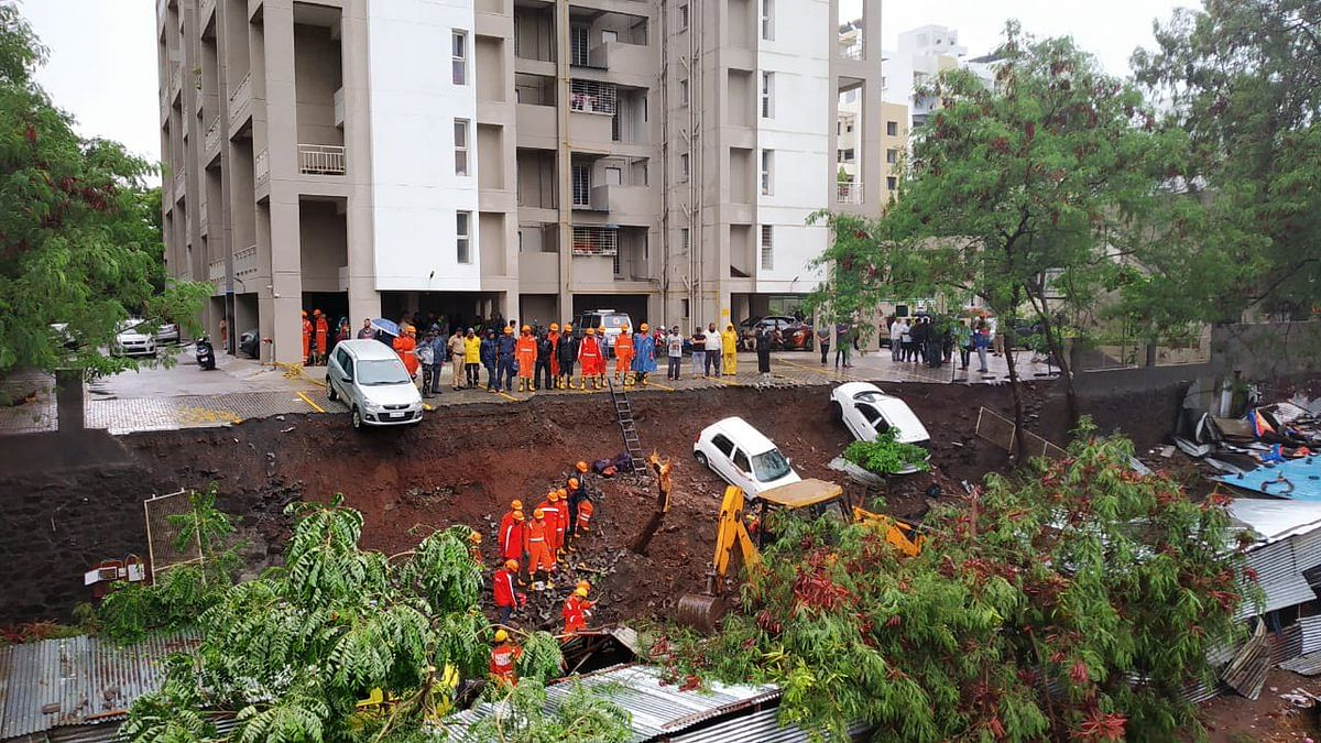 Pune: 17 killed in wall collapse following continuous rains